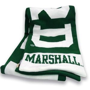 Marshall Thundering Herd Unisex Knit In Scarf NWT
